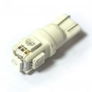 Светодиодная лампа Zax LED T10 (W5W) CERAMIC 5050 5SMD Blue (Синий)