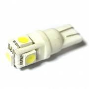 Светодиодная лампа Zax LED T10 (W5W) CERAMIC 5050 5SMD White (Белый)