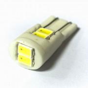 Светодиодная лампа Zax LED T10 (W5W) CERAMIC 5630 6SMD White (Белый)