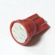 Светодиодная лампа Zax LED T10 (W5W) COB 1PC 6 chip Red (Красный)