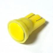 Светодиодная лампа Zax LED T10 (W5W) COB 1PC 6 chip Yellow (Желтый)