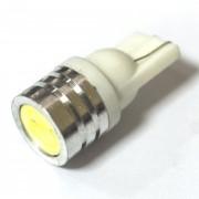 Светодиодная лампа Zax LED T10 (W5W) HIGH POWER 1SMD 1.0W White (Белый)