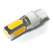 Светодиодная лампа Zax LED T20 (W21W 7440) HIGH POWER 5PCS 7.5W Yellow (Желтый)