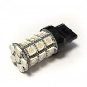 Светодиодная лампа Zax LED T20 (W21W 7440 W3х16d) 5050 27SMD Yellow (Желтый)