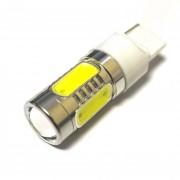 Светодиодная лампа Zax LED T20 (W21W 7440 W3х16d) HIGH POWER 5PCS Lens 7.5W White (Белый)