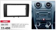 Переходная рамка Carav 11-450 AUDI A3 (8P / with Symphony OEM-Radio) 2003-2008, A3 (8P/8PA) 2008-2012, 2-DIN