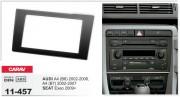 Переходная рамка Carav 11-457 AUDI A4 (B6) 2002-2006, A4 (B7) 2002-2007 / SEAT Exeo 2009+, 2-DIN