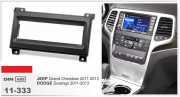 Переходная рамка Carav 11-333 Jeep Grand Cherokee 2011-2013 / Dodge Durango 2011-2013, 1-DIN