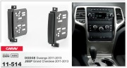 Переходная рамка Carav 11-514 JEEP Grand Cherokee 2011-2013 / DODGE Durango 2011-2013, 2-DIN