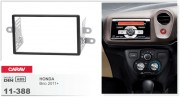 Переходная рамка Carav 11-388 Honda Brio 2011+, 2-DIN