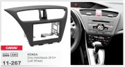 Переходная рамка Carav 11-267 Honda Civic Hatchback 2012+ (Left Wheel), 2-DIN