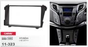 Переходная рамка Carav 11-323 Hyundai i-40 2011+, 2-DIN