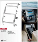Переходная рамка Carav 11-071 Hyundai iX-55 2008-2012, Veracruz 2007-2012, 2-DIN