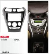 Переходная рамка Carav 11-428 Hyundai EON 2011+, 2-DIN