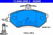 Тормозные колодки ATE 13.0460-2958.2