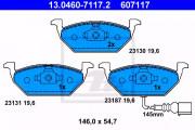 Тормозные колодки ATE 13.0460-7117.2