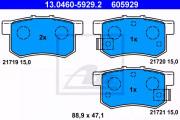 Гальмівні колодки ATE 13.0460-5929.2