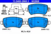 Гальмівні колодки ATE 13.0460-2868.2