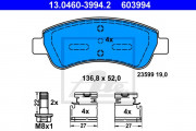 Тормозные колодки ATE 13.0460-3994.2