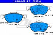 Тормозные колодки ATE 13.0460-5714.2