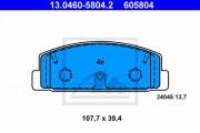 Тормозные колодки ATE 13.0460-5804.2
