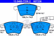 Тормозные колодки ATE 13.0460-7236.2