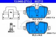 Тормозные колодки ATE 13.0460-2713.2