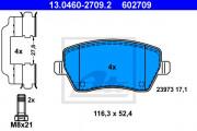 Тормозные колодки ATE 13.0460-2709.2