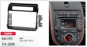 Переходная рамка Carav 11-320 KIA Soul 2011-2013, 2-DIN