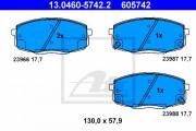 Тормозные колодки ATE 13.0460-5742.2