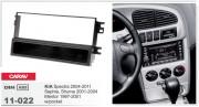 Carav Переходная рамка Carav 11-022 KIA Spectra 2004-2011, Sephia, Shuma 2001-2004, Mentor 1997-2001  w/pocket, 1-DIN