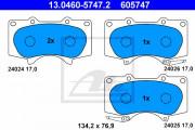 Тормозные колодки ATE 13.0460-5747.2