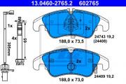Тормозные колодки ATE 13.0460-2765.2