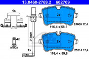 Тормозные колодки ATE 13.0460-2769.2