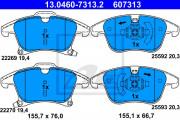 Гальмівні колодки ATE 13.0460-7313.2