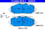 Тормозные колодки ATE 13.0460-5678.2
