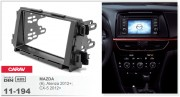 Переходная рамка Carav 11-194 Mazda (6), Atenza 2012+, CX-5 2012+, 2-DIN