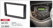 Переходная рамка Carav 11-083 Mazda MPV 1999-2005, Premasy 1999-2005 / Haima Freema 2006-2009, 2-DIN