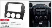 Переходная рамка Carav 11-176 Mazda MX-5, Miata 2005+, 2-DIN