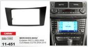 Переходная рамка Carav 11-451 Mercedes Benz E-klasse (W211) 2002-2009, CLS-klasse (C219) 2004-2010, 2 DIN