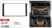 Переходная рамка Carav 11-429 Nissan Livina 2013+, 2-DIN