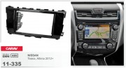 Переходная рамка Carav 11-335 Nissan Teana, Altima 2012+, 2-DIN