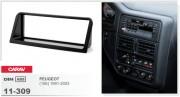 Переходная рамка Carav 11-309 Peugeot (106) 1991-2003, 1-DIN