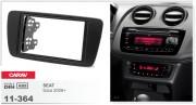 Переходная рамка Carav 11-364 Seat Ibiza 2008+, 2-DIN