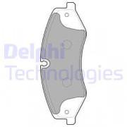 Тормозные колодки DELPHI LP2176