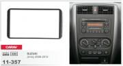 Переходная рамка Carav 11-357 Suzuki Jimny 2006-2012, 2-DIN