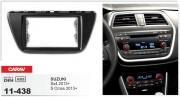 Переходная рамка Carav 11-438 Suzuki SX4, S Cross 2013+, 2-DIN