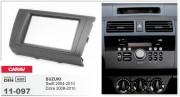Переходная рамка Carav 11-097 Suzuki Swift 2004-2010, Dzire 2008-2010, 2-DIN