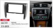 Переходная рамка Carav 11-203 Toyota Allion (T240/245), Premio 2007+, 2-DIN