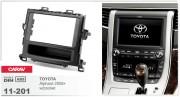 Переходная рамка Carav 11-201 Toyota Alphard 2008+ w/pocket, 2-DIN